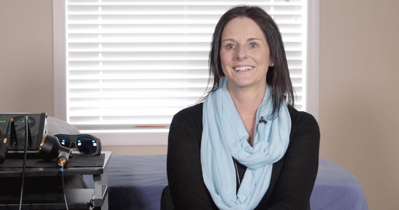 Genoa Laser Therapy patient Victoria Robinson talks about how NovoTHOR has impacted her life
